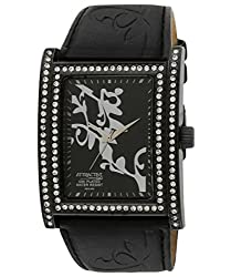 Q&Q Analog Black Dial Womens Watch - DB23J502Y
