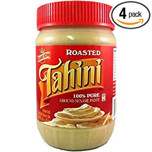 Sesame King Tahini Paste, 16-Ounce Jars (Pack of 4)