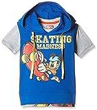 Kidsville Boys' T-Shirt (MC1TB05_Multi_3 - 4 years) Combo Tee pack of 2