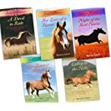 Patricia Leitch Jinnny of Finmory 5 Books Collection Pack Set (For the Love of a Horse , A Devil to Ride , The Summer Riders, The Night of the Red Horse, Gallop to the Hills)by Patricia Leitch