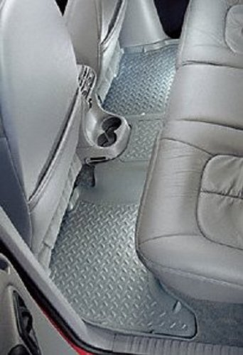 Husky Liners Custom Fit Front and Second Seat Floor Liner Set for Select Honda Civic Models Tan