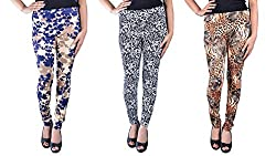 IPG MEGACORP Combo of 3 Women Leggings