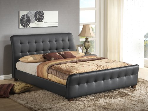 Beds With Leather Headboards 2911 front