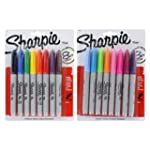 Sharpie Permanent Markers, Assorted I...