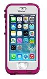 LifeProof NÜÜD SERIES Waterproof Case for iPhone 5/5s/SE - Retail Packaging - PINK (BLAZE PINK/CLEAR)