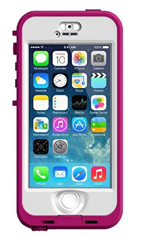 LifeProof iPhone 5S 5 NUUD Case Pink Clear
