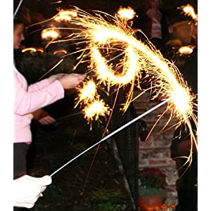 wedding reception decoration ideas, 20 inch wedding sparklers