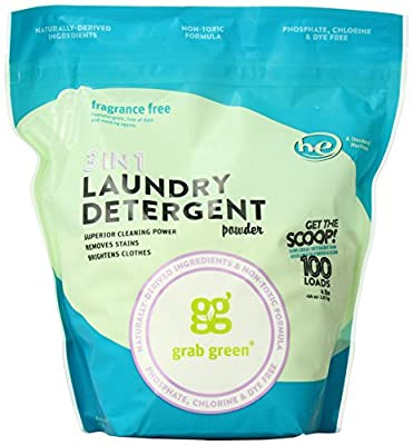 Grab Green 3-in-1 Laundry Detergent Powder