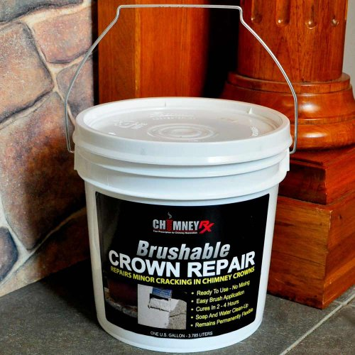 ChimneyRx Brushable Masonry Fireplace Crown Repair - 1 Gallon (Masonry Fireplace compare prices)