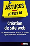 Cr�ation de mon site web