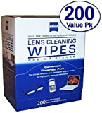 Zeiss Pre-Moistened Lens Cloths Wipes(Size: 200-ct)
