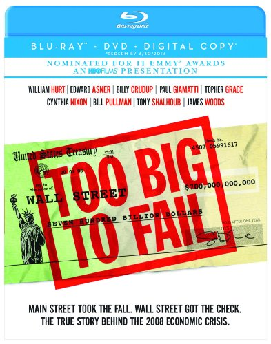 Cover art for  Too Big to Fail (Blu-ray/DVD Combo + Digital Copy)