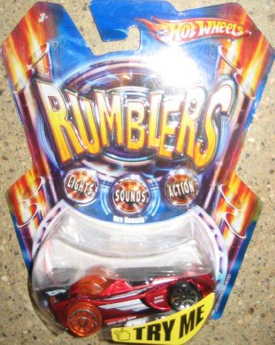 Hot Wheels Rumblers Rev Rocker Lights - Sounds - Action