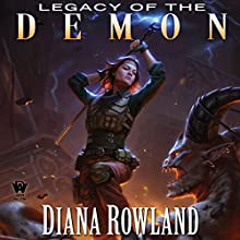 Legacy of the Demon: Kara Gillian, Book 8 Audiobook by Diana Rowland Narrated by Liv Anderson