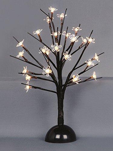 Warm White Led Cherry Blossom Tree Christmas Decoration 35Cm 24