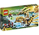 LEGO Ninjago - Playthemes - The Golden Dragon - 70503 + Lego Ninjago - Samurai Mech - 9448