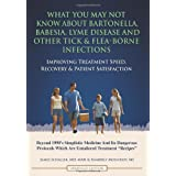 What You May Not Know About Bartonella, Babesia, Lyme Disease and Other Tick & Flea-Borne Infections: Improving Treatment Speed, Recovery & Patient Satisfaction ~ James Schaller MD