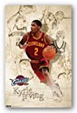 (22x34) Cleveland Cavaliers Kyrie Irving Sports Poster Amazon.com