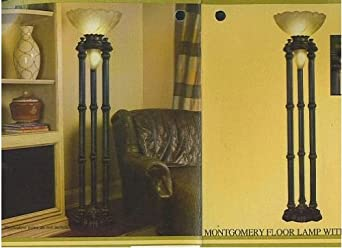 Cheyenne Industries Montgomery Floor Lamp with Night Light - - Amazon