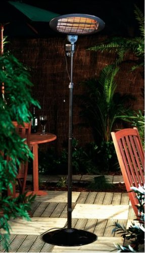 Free Standing Patio Heater - 3 Power Settings