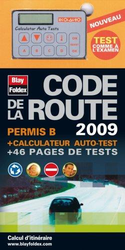 Code de la route permis B : Avec calculateur auto-test