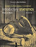 img - for Introductory Statistics 9e Student Solutions Manual book / textbook / text book
