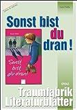 """Sonst bist du dran - Literaturblätter: Begleitmaterial zur Lektüre """"Sonst bist du dran"""""""