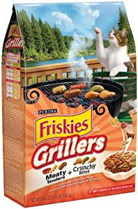 Purina Friskies Grillers Blend, 3.15-Pounds (Pack of 3)