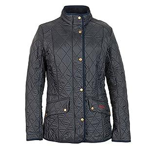 Amazon.com: Barbour Women's Cavalry Polarquilt Jacket 8