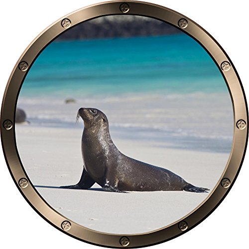 Sea Lion Portal Wall Decal