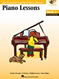 Piano Lessons Book 3 - Book/Enhanced CD Pack: Hal Leonard Student Piano Library (Hal Leonard Student Piano Library (Songbooks))