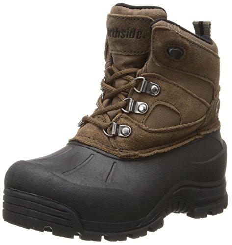 Northside Tundra Winter Boot ,Bark,4 M US Big Kid