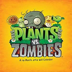 (12x12) Plants vs. Zombies 16-Month 2013 Wall Calendar