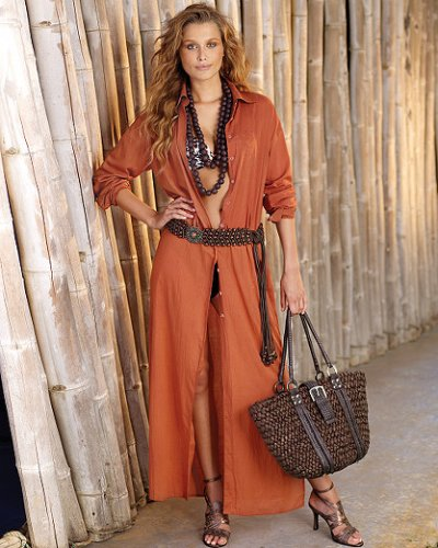 Buy Long cover-up shirtdress