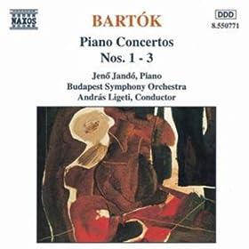 Bartok : Concertos pour piano n� 1, 2 &
