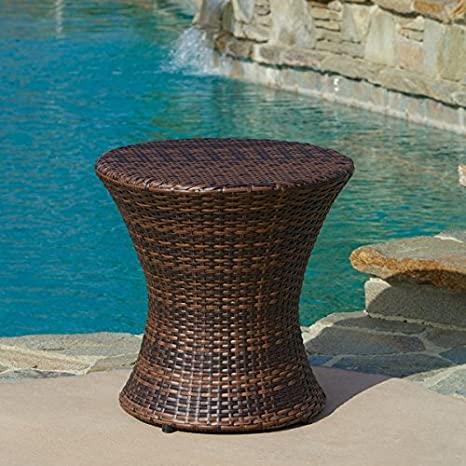 Wicker Patio Set, Outdoor, 3 Peice. This Patio Furniture Sets Wicker Design Makes a Wonderful Addition to Any Outdoor Area. The Set Includes 2 Chairs and 1 Table.