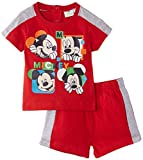 Disney Mickey Mouse - Polo para niños, color rojo, talla 86/18 meses