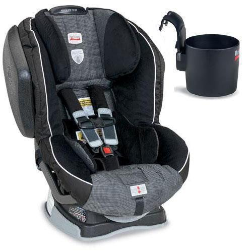Britax E9LG81A, Advocate 70-G3 Convertible Car Seat w/ Cup Holder - Onyx