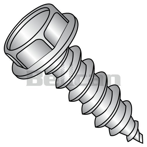 Pan Head Star Drive 1-1//2 Length Type AB Steel Sheet Metal Screw Pack of 50 Zinc Plated #10-16 Thread Size