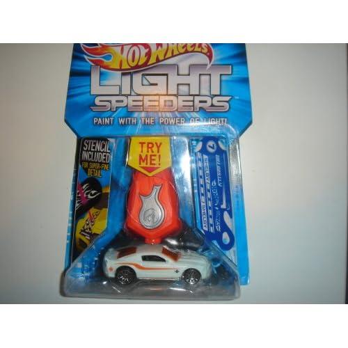 .com: Hot Wheels Light Speeders '10 Ford Shelby GT-500 Super Snake