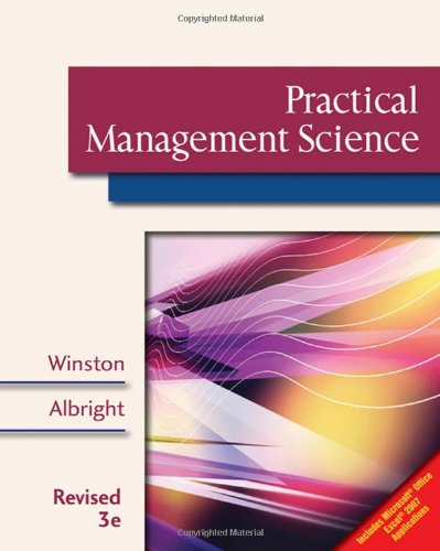Practical Management Science, Revised (with CD-ROM,...