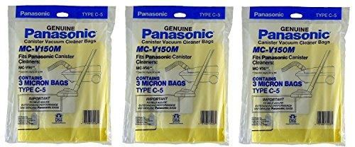 Panasonic C-5 Micron Filtration Vacuum Bags - 9 bags (Panasonic Vacuum Bags compare prices)