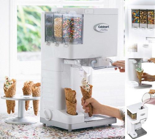 クイジナート ソフトクリームメーカー Cuisinart Ice-45 Mix It In Soft Serve Ice Cream Maker 並行輸入品