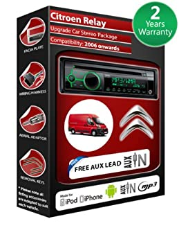 Citroen et lecteur CD-AUTORADIO Clarion radio play kit iPod/iPhone/Android