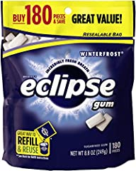 Eclipse Gum, Winterfrost, 180 Count