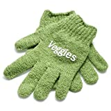 Sur La Table Veggie Scrub Gloves, Set of 2 , Green