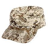 SODIAL(R) Military Army Urban Sun Visor Cap Mens Lady Hat Camo Camouflage Jungle Baseball - Desert Digital
