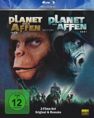 Planet der Affen - Original (1968) & Remake (2001) [Blu-ray]
