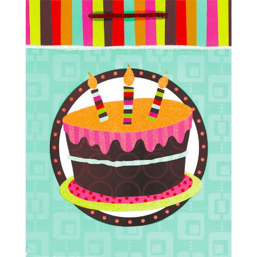 Cake Large Gift Bag Party Accessory
