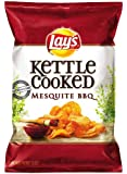 Lay's Kettle Cooked Potato Chips, Mesquite BBQ, 8.5 Ounce (Pack of 4)